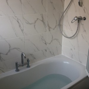 bathroom re tiling
